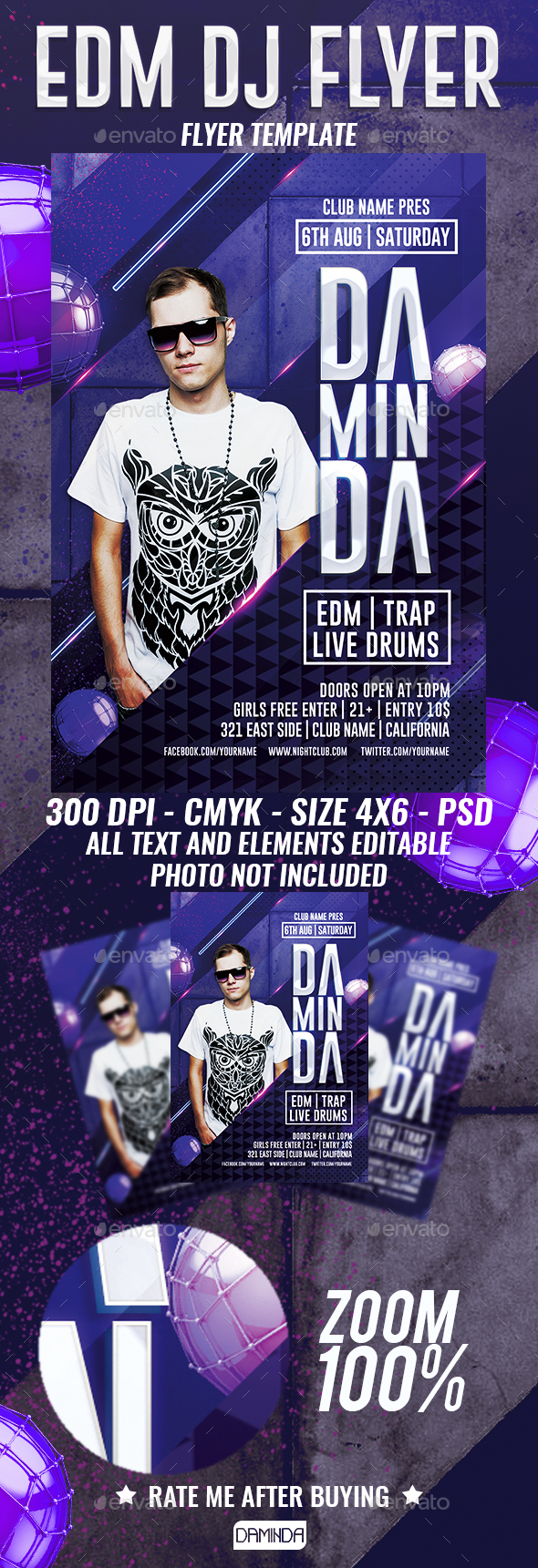Dj Club Graphics, Designs & Templates from GraphicRiver (Page 4)