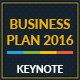 Business Plan 2016 Keynote Template - GraphicRiver Item for Sale
