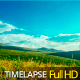 Clouds Flying over Green hills - VideoHive Item for Sale