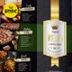 Luxury Menu Flyer - GraphicRiver Item for Sale