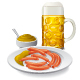Beer and Sausages - GraphicRiver Item for Sale