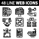 Business and Management Line Web Icons - GraphicRiver Item for Sale