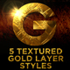 Beaten Gold Layer Styles - GraphicRiver Item for Sale