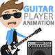 Guitar Player Animation - CodeCanyon Item for Sale