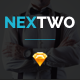 NEXTWO Business Sketch Template - ThemeForest Item for Sale