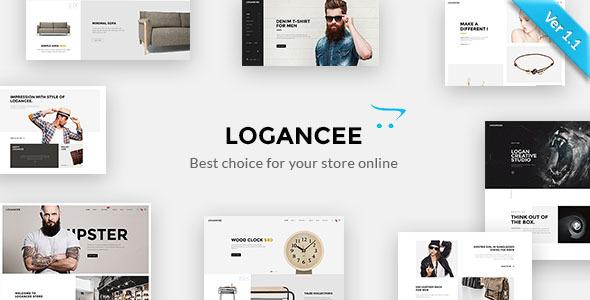 Logancee - Premium OpenCart Template