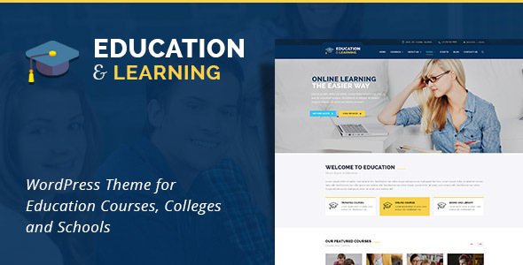 EducationWP -  Education WordPress Theme