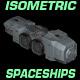 Isometric Spaceship Sprites - GraphicRiver Item for Sale