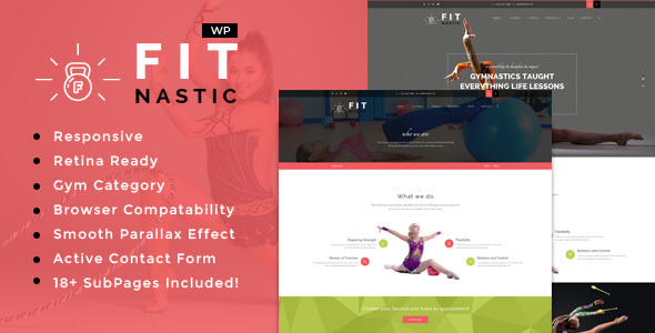 Fitnastic | Gym & Fitness WordPress Theme