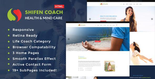 Shifen - Personal Development Coach HTML Template