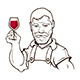 Wine Maker Character - GraphicRiver Item for Sale