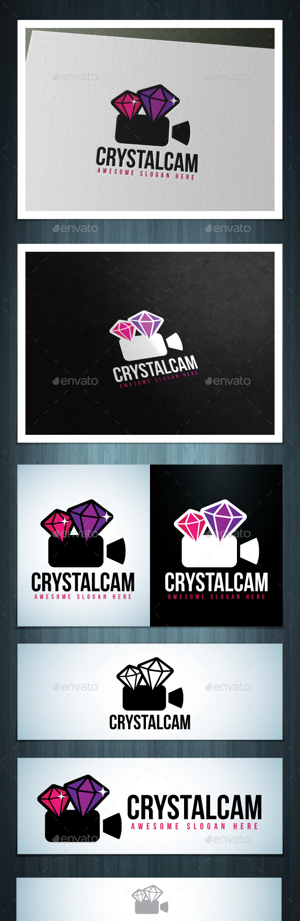 Crystalcam Logo