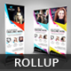 Beauty Salon Roll Up Banner V36 - GraphicRiver Item for Sale