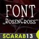 Handmade Font RosenCross - GraphicRiver Item for Sale