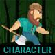 2D Lumberman Sprites Game Assets - GraphicRiver Item for Sale