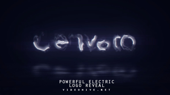 Powerful Electric Logo Reveal