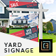Printable Modern Real Estate Yard Signage Template 11 + Riders - GraphicRiver Item for Sale
