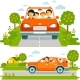 Family in Car - GraphicRiver Item for Sale