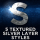 Silver Acid Layer Styles - GraphicRiver Item for Sale