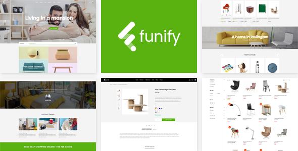 Funify - Minimal Responsive UX Shopify Theme