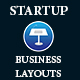 Startup Business Layouts Keynote Presentation Template - GraphicRiver Item for Sale