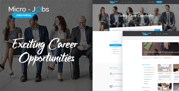 Job Postings Templates from ThemeForest