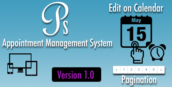 Appointment Management System - Version 1.5