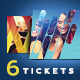 Event Tickets Pack - GraphicRiver Item for Sale