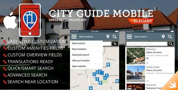 City Guide iOS iPhone App