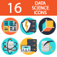 Data Science Icons - GraphicRiver Item for Sale