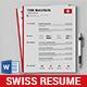 Swiss Resume - GraphicRiver Item for Sale