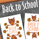 Back to School Cards - GraphicRiver Item for Sale
