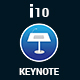 i10 Keynote Presentation Template - GraphicRiver Item for Sale