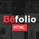 Befolio - Multi-Purpose HTML5 Template - ThemeForest Item for Sale
