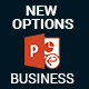 NEW OPTIONS Business Layouts PowerPoint Presentation Template - GraphicRiver Item for Sale