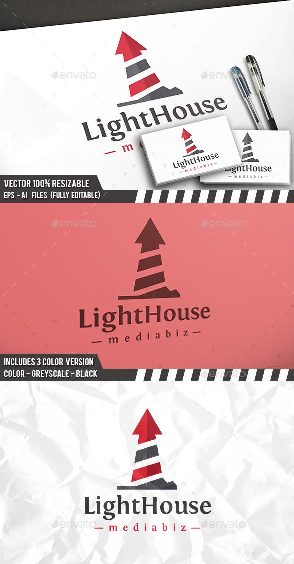 Arrow Lighthouse Logo
