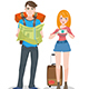 Travel Character - GraphicRiver Item for Sale