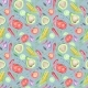 Vegetarian Watercolor Pattern - GraphicRiver Item for Sale