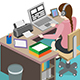 Office Secertary - GraphicRiver Item for Sale