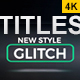 37 Distortion Glitch Titles - VideoHive Item for Sale