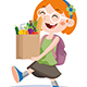 Shopping Kids - GraphicRiver Item for Sale