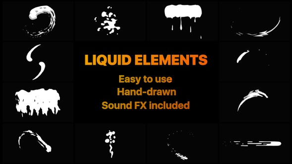 Liquid Motion Shapes by MisterFlashAnimation