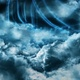 Clouds and Energy Waves - VideoHive Item for Sale