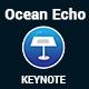 ocean Echo Keynote Presentation Template - GraphicRiver Item for Sale