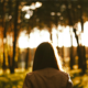 Girl Walking In the Forest 2 - VideoHive Item for Sale
