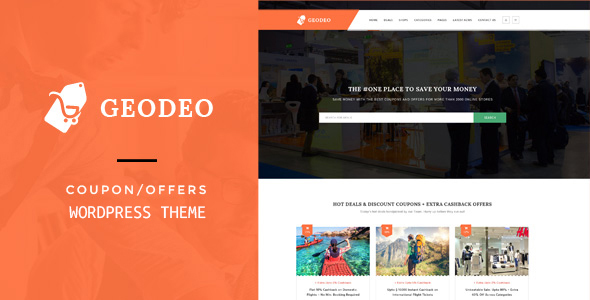 Geodeo - Coupons & Deals WordPress Theme
