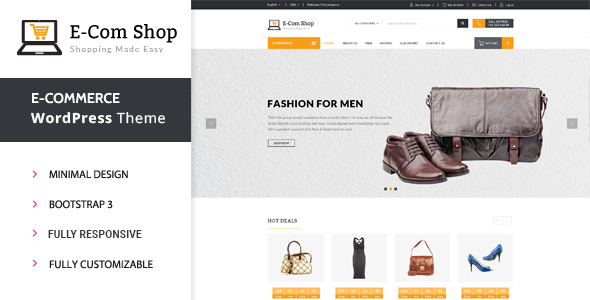 WordPress Shop Themes from ThemeForest