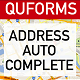 QuForms Address Autocomplete - CodeCanyon Item for Sale