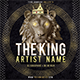 Lion Mixtape Album CD Cover Template - GraphicRiver Item for Sale