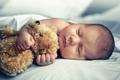 sleeping newborn baby - PhotoDune Item for Sale